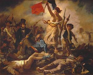 La Liberté menant le peuple, par Eugène Delacroix